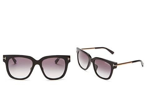 Tom Ford Tracy Square Sunglasses, 54mm - Bloomingdale's_2