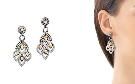"John Hardy ""Naga"" Gold and Silver Chandelier Earrings - Bloomingdale's_2"