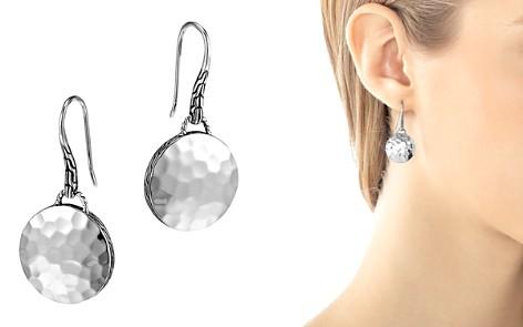 John Hardy Palu Sterling Silver Round Drop Earrings - Bloomingdale's_2