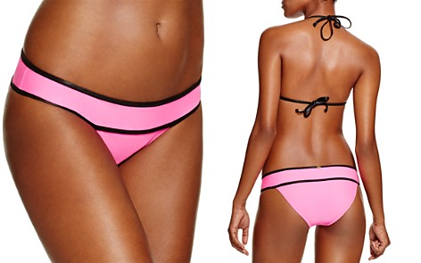 PilyQ Piped Banded Full Bikini Bottom - Bloomingdale's_2