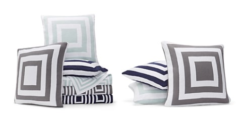 Hudson Park Geo Knit Decorative Pillows and Throws - 100% Exclusive - Bloomingdale's_2
