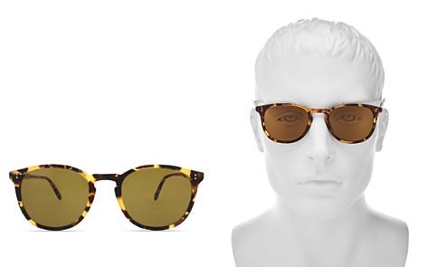 GARRETT LEIGHT Kinney Round Sunglasses, 49mm - Bloomingdale's_2