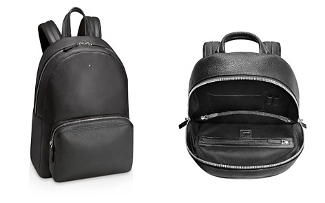 Montblanc Meisterstück Soft-Grain Leather Backpack in Black - Bloomingdale's_2