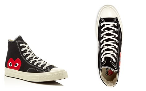 COMME des GARÇONS PLAY Men's Converse Chuck Taylor High Top Sneakers - Bloomingdale's_2