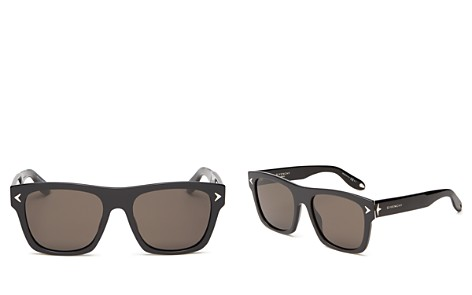 Givenchy Women's Flat Top Square Sunglasses, 55mm - Bloomingdale's_2