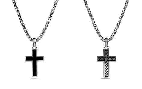 David Yurman Exotic Stone Cross with Black Onyx - Bloomingdale's_2