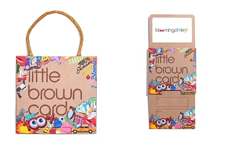 Bloomingdale's Emoji Little Brown Gift Card_2