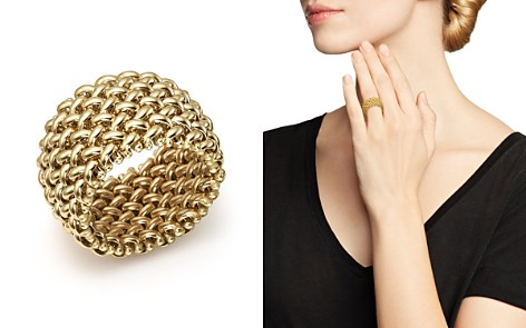 Woven Ring in 14K Yellow Gold - 100% Exclusive - Bloomingdale's_2