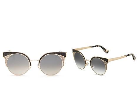 Jimmy Choo Oras Cat Eye Sunglasses, 51mm - Bloomingdale's_2