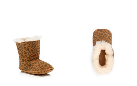UGG® Girls' Cassie Leopard Booties - Baby - Bloomingdale's_2