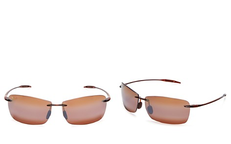 Maui Jim Unisex Lighthouse Rimless Sunglasses, 65mm - Bloomingdale's_2