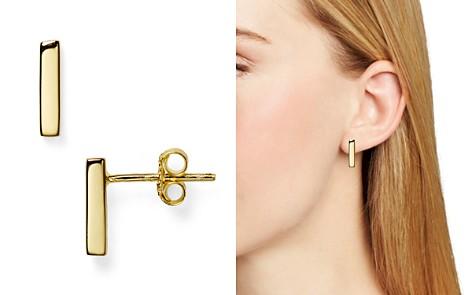 Argento Vivo Straight Bar Stud Earrings - Bloomingdale's_2