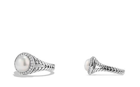 David Yurman Albion Pearl Ring with Diamonds - Bloomingdale's_2