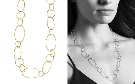 "LAGOS 18K Gold Link Necklace, 24"" - Bloomingdale's_2"