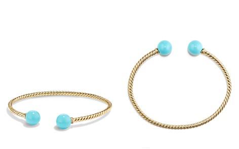 David Yurman Solari Bead Bracelet with Turquoise in 18K Gold - Bloomingdale's_2