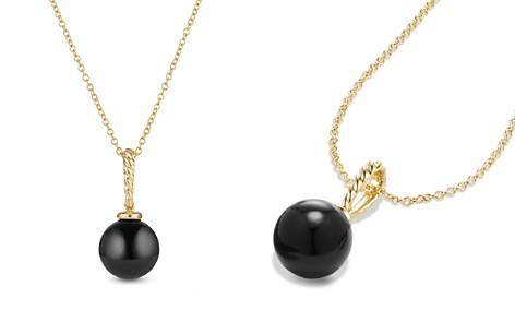 David Yurman Solari Pendant with Black Onyx in 18K Gold - Bloomingdale's_2