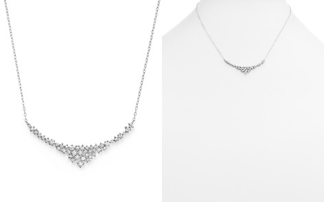 Diamond Scatter Necklace in 14K White Gold, .70 ct. t.w. - 100% Exclusive - Bloomingdale's_2