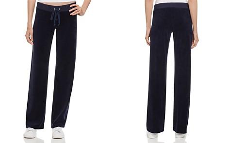 Juicy Couture Black Label Original Flare Velour Pants - 100% Exclusive - Bloomingdale's_2