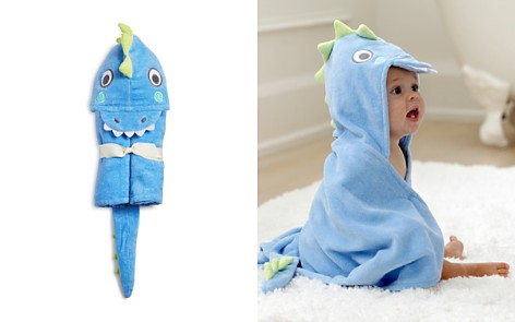 Elegant Baby Infant Boys' Dinosaur Hooded Bath Towel - Bloomingdale's_2