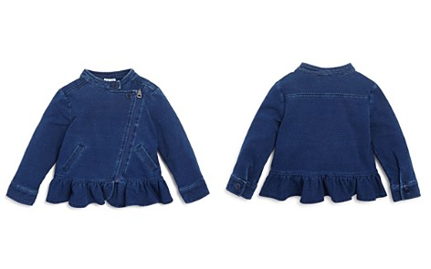 Splendid Girls' Denim Look Knit Jacket - Baby - Bloomingdale's_2