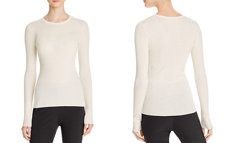 Theory Mirzi B Merino Wool Top - Bloomingdale's_2