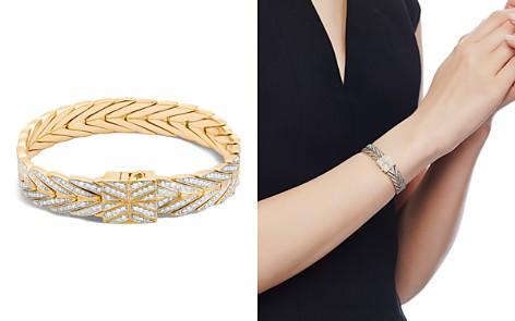 John Hardy 18K Yellow Gold Modern Chain Bracelet with Diamonds - Bloomingdale's_2