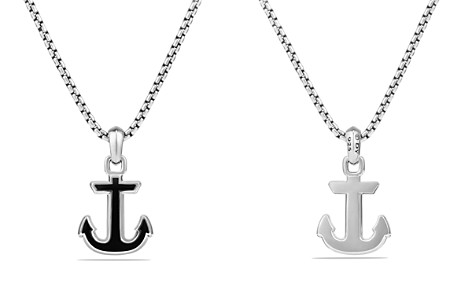 David Yurman Maritime Anchor Amulet with Black Onyx - Bloomingdale's_2