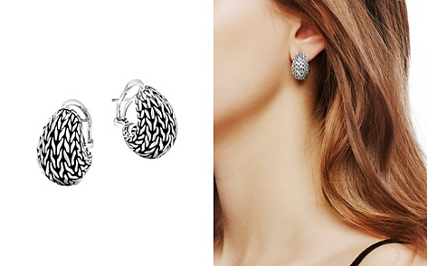John Hardy Sterling Silver Classic Chain Graduated Buddha Belly Earrings - Bloomingdale's_2