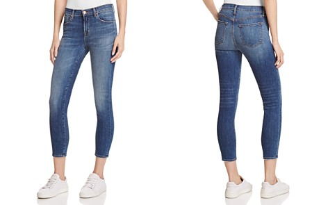 J Brand 835 Cropped Skinny Jeans in Sublime - Bloomingdale's_2