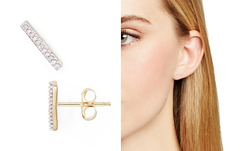 Adina Reyter Diamond Pavé Bar Stud Earrings - Bloomingdale's_2