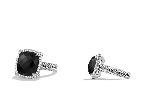 David Yurman Châtelaine Pavé Bezel Ring with Black Onyx and Diamonds - Bloomingdale's_2