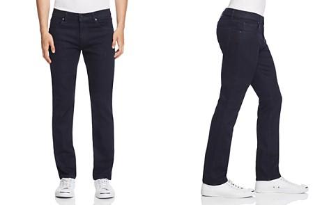 J Brand Kane Straight Fit Jeans in Dark Blue - Bloomingdale's_2