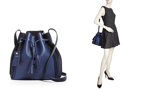 Longchamp Penelope Leather Bucket Bag - Bloomingdale's_2