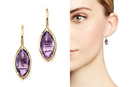 Bloomingdale's Amethyst Drop Earrings in 14K Yellow Gold - 100% Exclusive_2