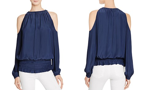 Ramy Brook Lauren Cold Shoulder Blouse - Bloomingdale's_2