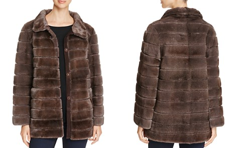 Maximilian Furs Suede Trim Mink Fur Coat - 100% Exclusive - Bloomingdale's_2