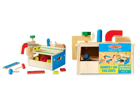 Melissa & Doug Hammer & Saw Tool Bench - Ages 3+ - Bloomingdale's_2