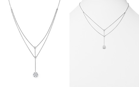 Diamond Station Y Necklace in 14K White Gold, .50 ct. t.w. - Bloomingdale's_2