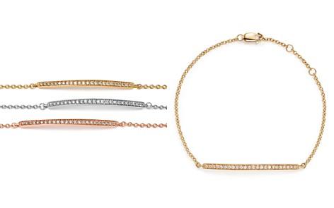 Diamond Bar Bracelet in 14K Gold, .25 ct. t.w. - 100% Exclusive - Bloomingdale's_2