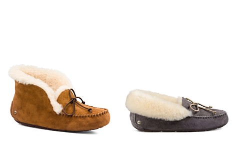 UGG® Alena Faux Fur Cuff Slippers - Bloomingdale's_2