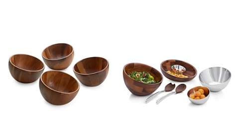 Nambé Luna Individual Salad Bowl, Set of 4 - 100% Exclusive - Bloomingdale's Registry_2