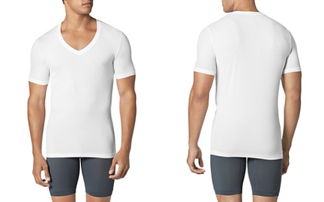 Tommy John Second Skin Deep V Neck Tee - Bloomingdale's_2
