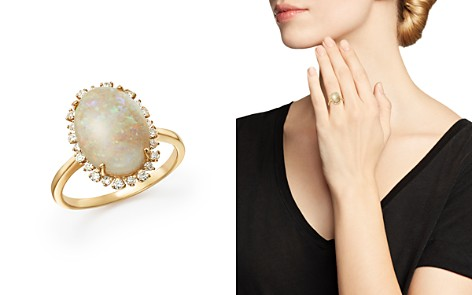 Opal and Diamond Statement Ring in 14K Yellow Gold - 100% Exclusive - Bloomingdale's_2
