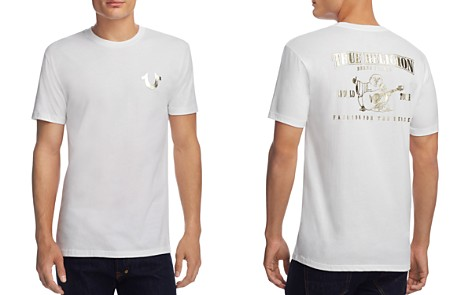 True Religion Buddha Metallic Logo Tee - Bloomingdale's_2