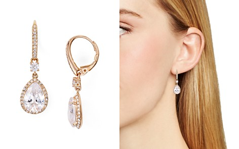 main classic chanteur earrings with pink drop crystals swarovski designs p