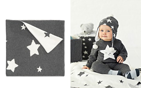 Elegant Baby Infant Star Print Knit Blanket - Bloomingdale's_2
