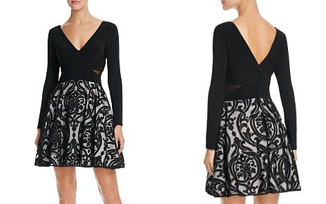 Avery G Mixed Media Dress - Bloomingdale's_2