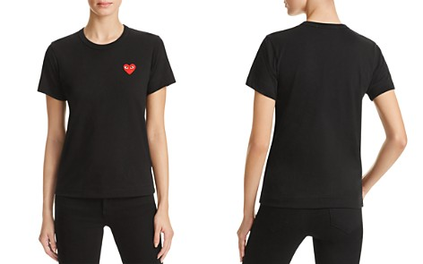 Comme Des Garcons PLAY Red Heart Tee - Bloomingdale's_2