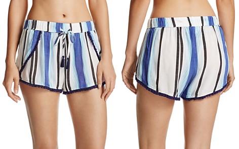 Surf Gypsy Stripe Split Leg Cover-Up Shorts - Bloomingdale's_2