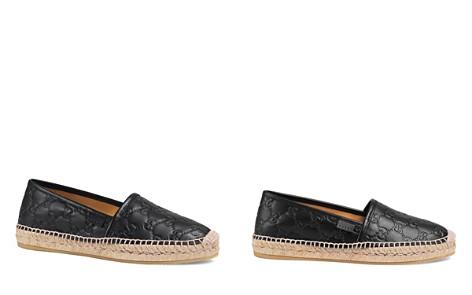 Gucci Women's Pilar Leather Espadrille Flats - Bloomingdale's_2
